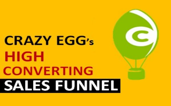 High conversion sales funnel with crazy eggs